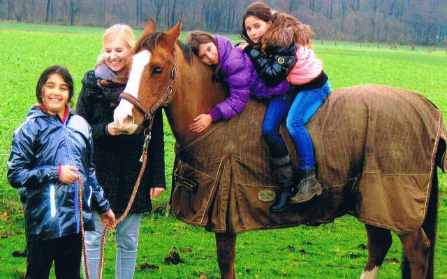 Das Glück auf dem Pferderücken. (Foto: SMMP/Laukamp-Terwolbeck)
