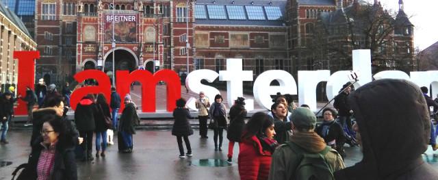 Alle sind von Amsterdam begeistert. (Foto: SMMP/Lümmen)