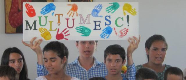 """""""Multumesc"""" ist das rumänische Wort für """"Danke"""". Diesen Dank hat Winfried Meilwes für unser Berufskolleg aus Rumänien mitgebracht. (Foto: SMMP/Meilwes)"""