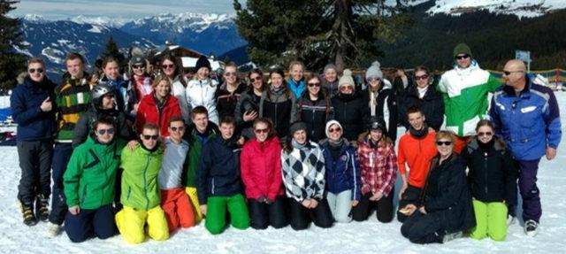 Sechs tolle Skitage erlebte die Klasse AHS 12.2 in Zell am Ziller in Tirol, Österreich. (Foto: SMMP/Krüskemper)