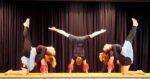 Feuer und Wasser, Akrobatikvorführung der AHS 11 - Leitung Jörn Welting