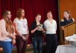 """Schülerinnen FSP U 1, """"Rede-Wendungen - aufgeschlüsselt"""", Leitung: Marietta Richter"""